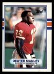 1989 Topps #262  Dexter Manley  Front Thumbnail