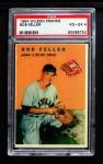1954 Wilson Franks  Bob Feller  Front Thumbnail