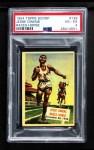 1954 Topps Scoop #128   -  Jesse Owens Jesse Owens Races Horse Front Thumbnail