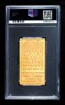 1911 T205  George Bell  Back Thumbnail