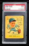 1938 Goudey Heads Up #258 / #282 Bobby Doerr   Front Thumbnail