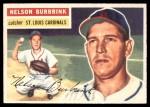 1956 Topps #27  Nelson Burbrink  Front Thumbnail