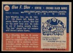 1957 Topps #30  Glen Skov  Back Thumbnail