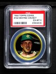 1964 Topps Coins #102  Wayne Causey   Front Thumbnail