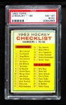 1963 Topps #66   Checklist Front Thumbnail