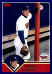 2003 Topps Traded #100 T Kenny Rogers  Front Thumbnail
