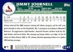 2003 Topps Traded #147 T  -  Jimmy Journell Prospect Back Thumbnail