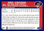 2003 Topps Traded #184 T  -  Eric Crozier First Year Back Thumbnail