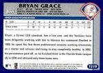 2003 Topps Traded #219 T  -  Bryan Grace First Year Back Thumbnail