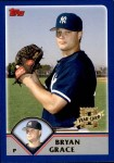 2003 Topps Traded #219 T  -  Bryan Grace First Year Front Thumbnail