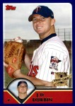2003 Topps Traded #241 T  -  J.D. Durbin First Year Front Thumbnail