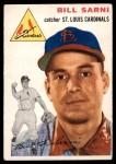 1954 Topps #194  Bill Sarni  Front Thumbnail