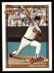 1991 Topps #10  Gregg Olson  Front Thumbnail