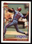 1991 Topps #48  Dennis Boyd  Front Thumbnail