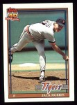 1991 Topps #75  Jack Morris  Front Thumbnail