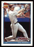 1991 Topps #545  Dale Murphy  Front Thumbnail