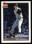 1991 Topps #19  Jeff D. Robinson  Front Thumbnail
