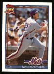 1991 Topps #105  Kevin McReynolds  Front Thumbnail