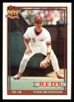 1991 Topps #334  Todd Benzinger  Front Thumbnail