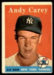 1958 Topps #333  Andy Carey  Front Thumbnail