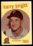 1959 Topps #523  Harry Bright  Front Thumbnail