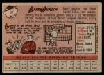 1958 Topps #97 WN Larry Jackson  Back Thumbnail