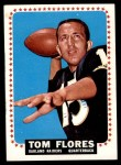 1964 Topps #139  Tom Flores  Front Thumbnail