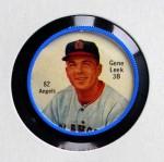 1962 Salada Coins #82 RED Gene Leek  Front Thumbnail