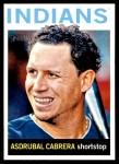 2013 Topps Heritage #31  Asdrubal Cabrera  Front Thumbnail