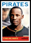 2013 Topps Heritage #62  Starling Marte  Front Thumbnail