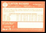 2013 Topps Heritage #111  Clayton Richard  Back Thumbnail