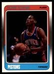 1988 Fleer #43  Dennis Rodman  Front Thumbnail