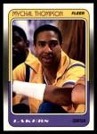 1988 Fleer #69  Mychal Thompson  Front Thumbnail