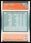 1988 Fleer #131   -  Mark Eaton All-Star Back Thumbnail