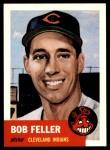 1953 Topps Archives #54  Bob Feller  Front Thumbnail