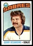 1976 Topps #230  Gerry Desjardins  Front Thumbnail