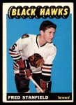 1965 Topps #63  Fred Stanfield  Front Thumbnail