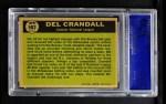 1961 Topps #583   -  Del Crandall All-Star Back Thumbnail