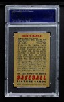1951 Bowman #253  Mickey Mantle  Back Thumbnail