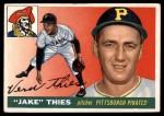 1955 Topps #12  Jake Thies  Front Thumbnail