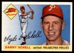 1955 Topps #79  Danny Schell  Front Thumbnail