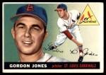 1955 Topps #78  Gordon Jones  Front Thumbnail