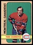 1972 Topps #10  Yvan Cournoyer  Front Thumbnail