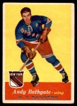 1957 Topps #60  Andy Bathgate  Front Thumbnail