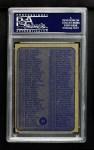 1974 Topps #54   Checklist Back Thumbnail