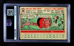 1956 Topps #55  Wally Moon  Back Thumbnail