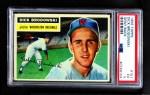 1956 Topps #157 GRY Dick Brodowski  Front Thumbnail
