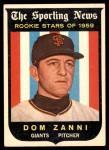 1959 Topps #145  Dom Zanni  Front Thumbnail