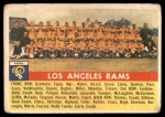 1956 Topps #114   Rams Team Front Thumbnail