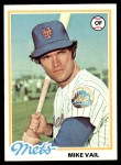 1978 Topps #69  Mike Vail  Front Thumbnail
